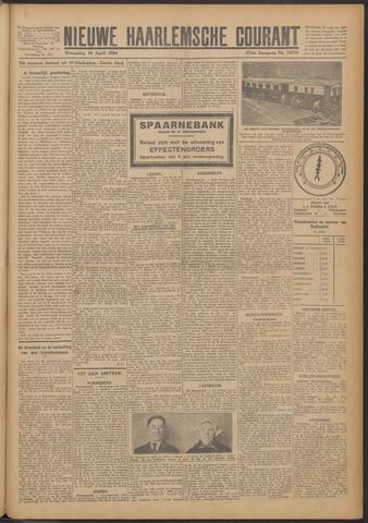 Nieuwe Haarlemsche Courant 1924-04-16