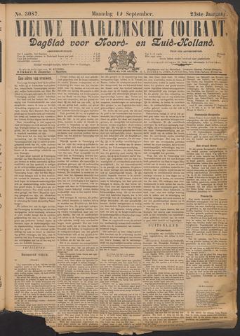 Nieuwe Haarlemsche Courant 1898-09-19