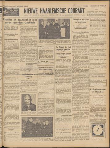 Nieuwe Haarlemsche Courant 1938-11-14