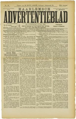 Haarlemsch Advertentieblad 1889-06-19