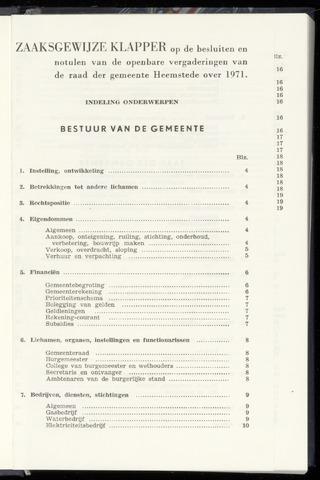 Raadsnotulen Heemstede 1971-01-01
