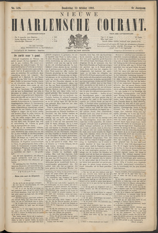 Nieuwe Haarlemsche Courant 1881-10-13