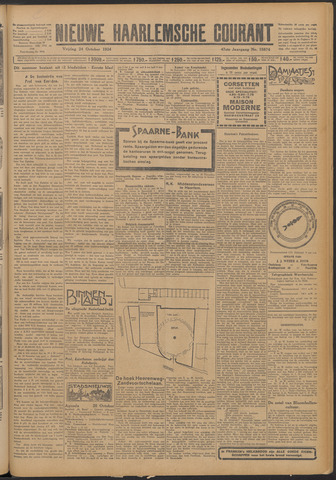 Nieuwe Haarlemsche Courant 1924-10-24