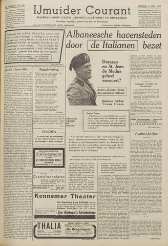 IJmuider Courant 1939-04-08