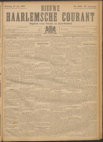 Nieuwe Haarlemsche Courant 1907-01-22