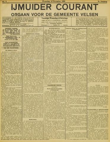 IJmuider Courant 1922-11-15