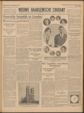 Nieuwe Haarlemsche Courant 1934-11-29