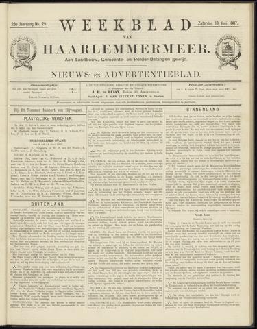 Weekblad van Haarlemmermeer 1887-06-18