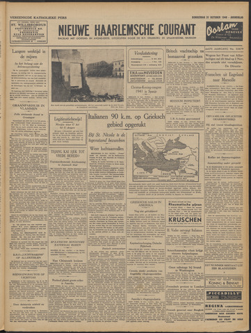 Nieuwe Haarlemsche Courant 1940-10-31