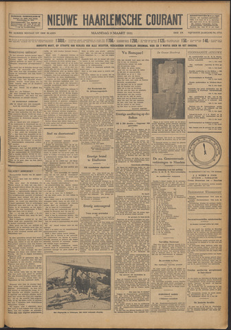 Nieuwe Haarlemsche Courant 1931-03-09