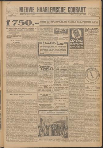 Nieuwe Haarlemsche Courant 1924-10-31