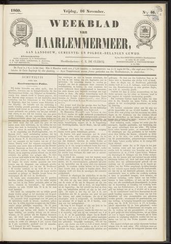 Weekblad van Haarlemmermeer 1860-11-16