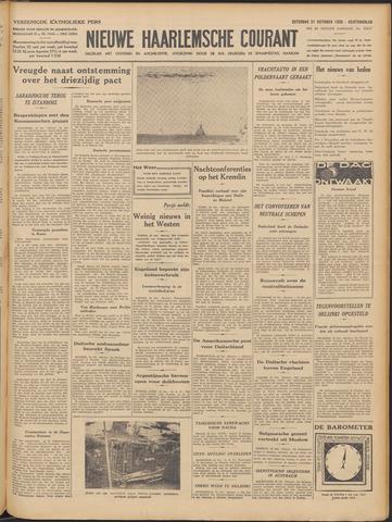 Nieuwe Haarlemsche Courant 1939-10-21