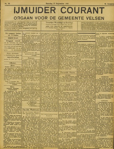 IJmuider Courant 1921-09-17