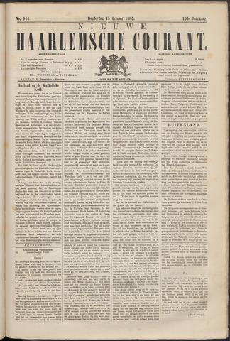 Nieuwe Haarlemsche Courant 1885-10-15