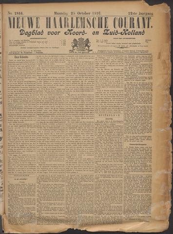 Nieuwe Haarlemsche Courant 1897-10-25