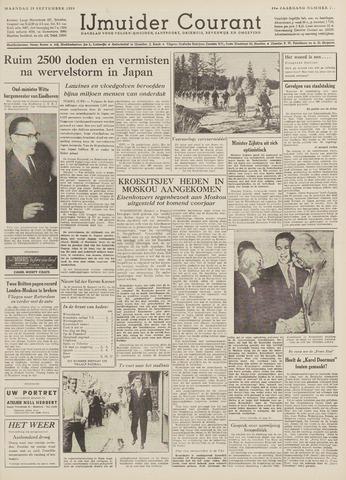IJmuider Courant 1959-09-28