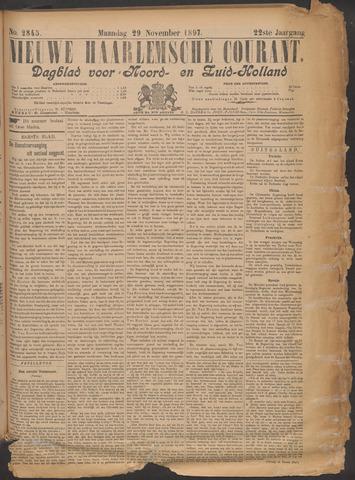 Nieuwe Haarlemsche Courant 1897-11-29