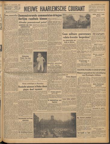 Nieuwe Haarlemsche Courant 1948-08-27