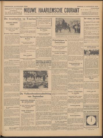 Nieuwe Haarlemsche Courant 1935-08-11