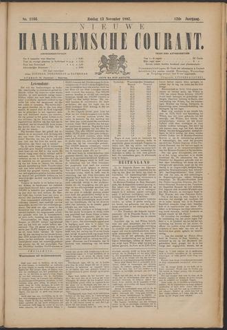 Nieuwe Haarlemsche Courant 1887-11-13