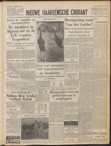 Nieuwe Haarlemsche Courant 1955-10-01