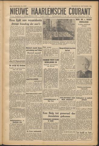 Nieuwe Haarlemsche Courant 1946-09-16