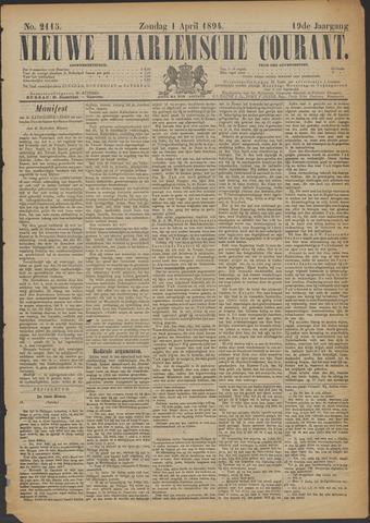 Nieuwe Haarlemsche Courant 1894-04-01