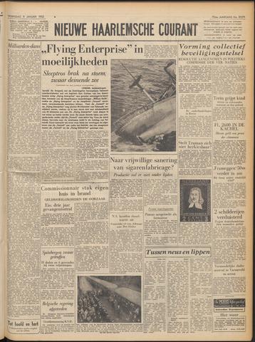 Nieuwe Haarlemsche Courant 1952-01-09
