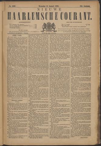 Nieuwe Haarlemsche Courant 1893-01-25
