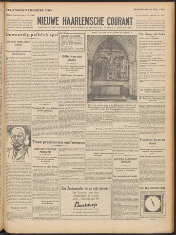 Nieuwe Haarlemsche Courant 1932-11-23