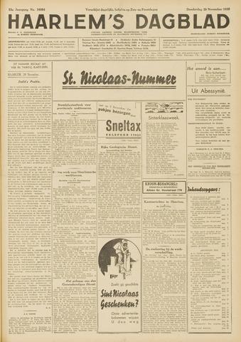 Haarlem's Dagblad 1935-11-28