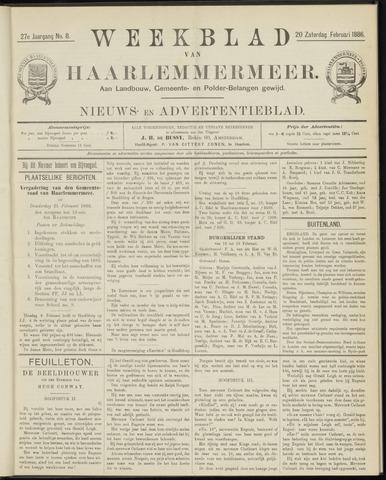 Weekblad van Haarlemmermeer 1886-02-20