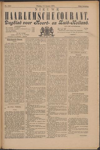 Nieuwe Haarlemsche Courant 1898-01-25
