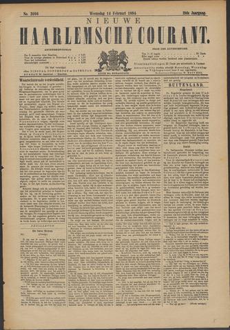 Nieuwe Haarlemsche Courant 1894-02-14
