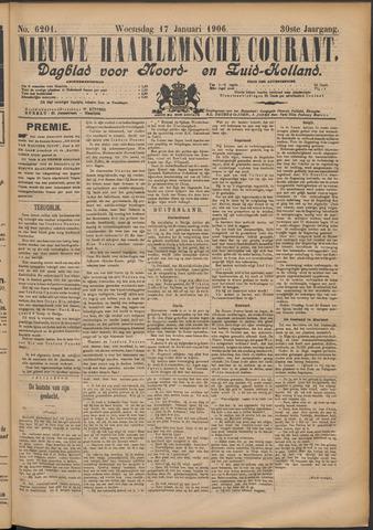 Nieuwe Haarlemsche Courant 1906-01-17
