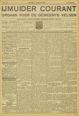 IJmuider Courant 1916-08-05