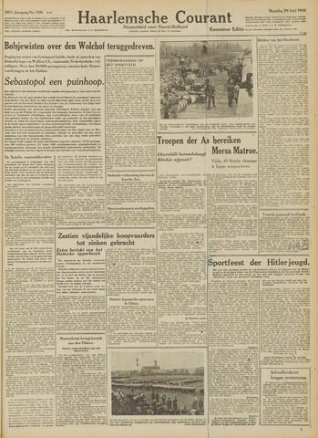 Haarlemsche Courant 1942-06-29