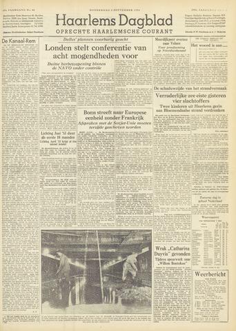 Haarlem's Dagblad 1954-09-02