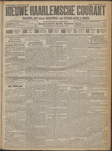 Nieuwe Haarlemsche Courant 1915-08-12