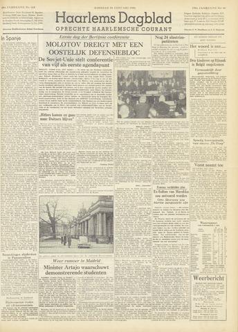 Haarlem's Dagblad 1954-01-26