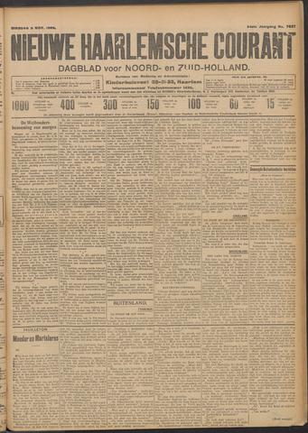 Nieuwe Haarlemsche Courant 1909-11-09