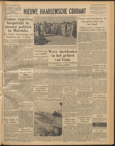 Nieuwe Haarlemsche Courant 1955-08-29