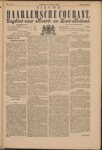 Nieuwe Haarlemsche Courant 1898-10-20