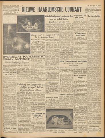 Nieuwe Haarlemsche Courant 1949-10-19