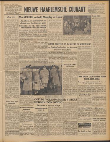 Nieuwe Haarlemsche Courant 1951-04-13