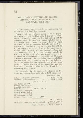 Raadsnotulen Heemstede 1942-08-26