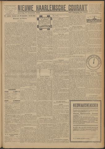 Nieuwe Haarlemsche Courant 1922-12-16