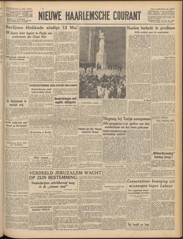 Nieuwe Haarlemsche Courant 1949-05-05