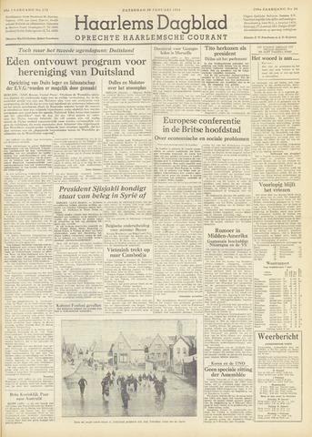Haarlem's Dagblad 1954-01-30